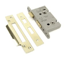 "From The Anvil Euro Sash Lock 2.5"" Polished Brass"