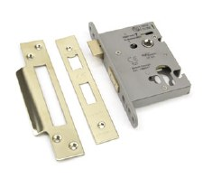 "From The Anvil Euro Sash Lock 3"" Polished Brass"
