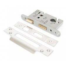 "From The Anvil Euro Sash Lock 2.5"" Stainless Steel"