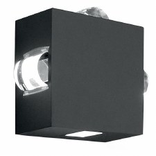 Elstead Agner Four Way LED Outdoor Wall Light
