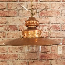 Paddington Large Pendant Polished Brass Ex Display