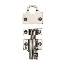 Heritage Fanlight Catch V1117 Polished Nickel