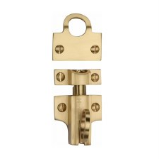 Heritage Fanlight Catch V1117 Satin Brass