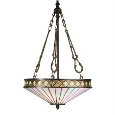 Interiors 1900 Fargo Tiffany Ceiling Light Pendant