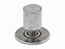 Finesse Farrow Cupboard Door Knob FD290 Solid Pewter