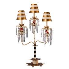 Flambeau Birdland III Table Lamp