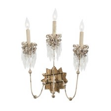 Flambeau Venetian Triple Wall Light