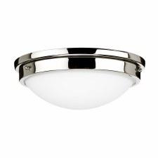 Feiss Gravity Flush Ceiling Light Polished Nickel