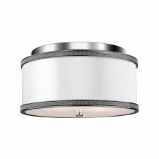 Elstead Pave Flush Ceiling Light