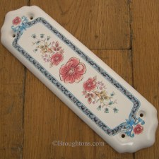 Porcelain Finger Plate Poppyana