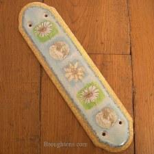 Porcelain Finger Plate Springtime