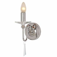 Elstead Finsbury Wall Light Nickel