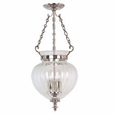 Elstead Finsbury Medium Lantern Nickel
