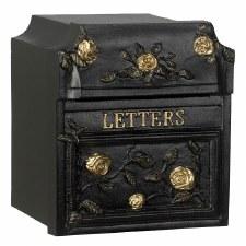 Frisby Post Box Black