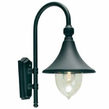 Elstead Firenze Outdoor Wall Light Black