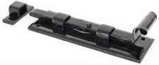 "From The Anvil Fishtail Straight Door Bolt 6"" Black"