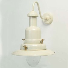 Fishermans Outdoor Wall Light Large Cream