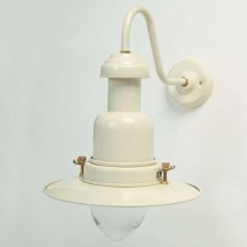 Small Fishermans Outdoor Wall Light Cream