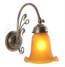 Fleur De Lys Single Wall Light