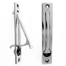 4380 Door Edge Pull Polished Chrome