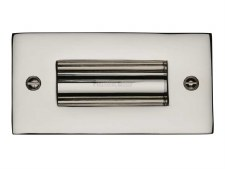 "Heritage Flush Pull Handle 4"" Polished Nickel"