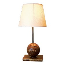 Football Table Lamp with Shade
