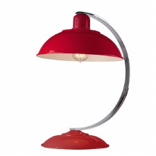 Elstead Franklin Table Lamp Red
