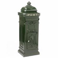 Freestanding Post Box Green