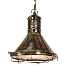 Freighter Hanging Pendant Lamp Light Antique