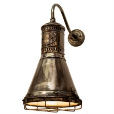 Freighter Wall Light Antique Brass