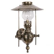 Galley Wall Light, Light Antique Brass