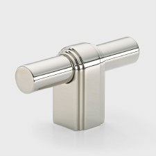 Armac Gaumont T-Bar Pull Handle Polished Nickel