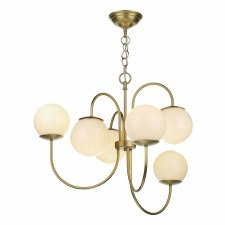 David Hunt GAV0640 Gavroche 6 Light pendant