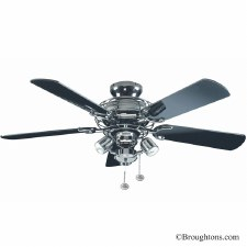 Fantasia Gemini Ceiling Fan with Lights Pewter