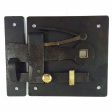 Georgian Bow or Skeleton Door Latch Right Hand