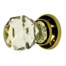Lead Crystal Cupboard Door Knob