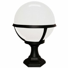 Elstead Glenbeigh Pedestal or Porch Lamp Black