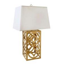 Gilded Nola Lee Circle Table Lamp