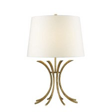 Gilded Nola Rivers Table Lamp