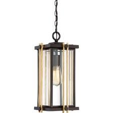 Quoizel Goldenrod Chain Lantern