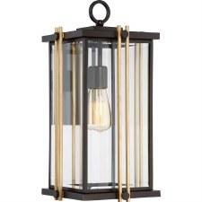 Quoizel Goldenrod Wall Lantern Large