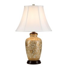 Elstead Gold Thistle Table Lamp