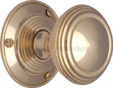 Heritage Goodrich Knobs GOO986 Polished Brass