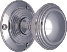 Heritage Goodrich Knobs GOO986 Polished Chrome