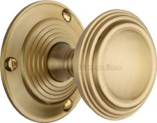 Heritage Goodrich Knobs GOO986 Satin Brass