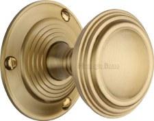 Heritage Goodrich Knobs GOO986 Satin Brass