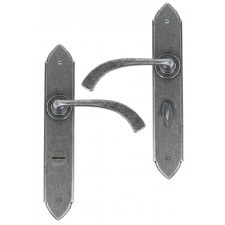 From The Anvil Gothic Curved Bathroom Lever