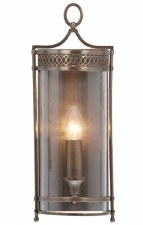 Elstead Guildhall Wall Light Dark Bronze
