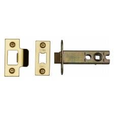 "Heritage Heavy Duty Mortice Tubular Latch YKAL4 Polished Brass 4"""
