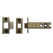 "Heritage Heavy Duty Mortice Tubular Latch YKAL5 Antique Brass 5"""